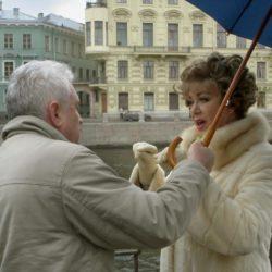 Я с Пьехой под зонтом